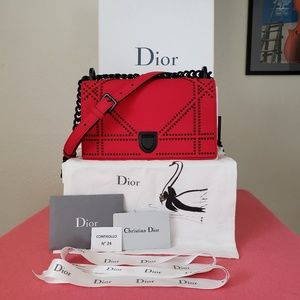 Dior Bags   New Ama Special Edition 2018 Red Leather Bag   Poshmark aba767bc40